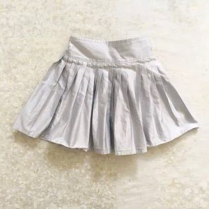 baby Gap Pleated Silver Skirt Dressy Holiday 3T